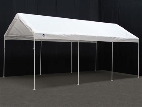 Tent Awnings For Cars 10 X 20 Universal Portable Garage Canopy With Enclosure Walls