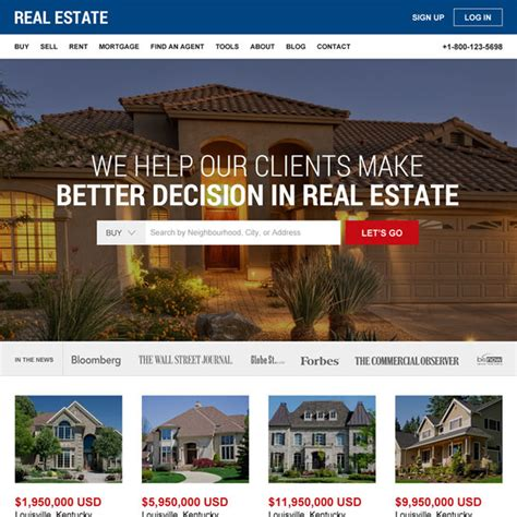 Html Website Templates Html Css Website Templates Coded Website Templates Best Real Estate Templates