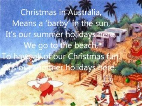christmas traditions in australia facts american clip 3 18 min a merry song in with some written
