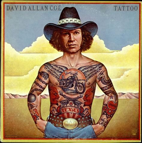 david allan coe tattoo david allan coe vinyl lp at discogs