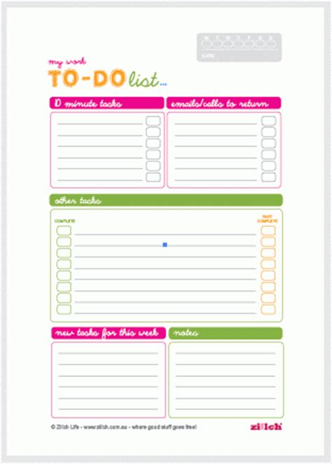 to do list template for work free work to do list template
