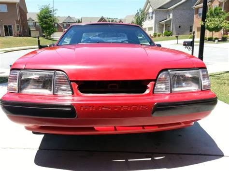 automobile air conditioning repair 1991 ford mustang instrument cluster red and black 1991 ford mustang lx manual 4 cylinder 67 000 miles for sale in tucker georgia