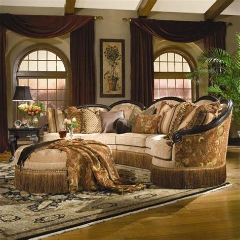 old world sofas rachlin classics grace traditional 3pc conversational