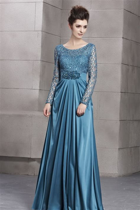 Blues Bruklat robe longue avec manche
