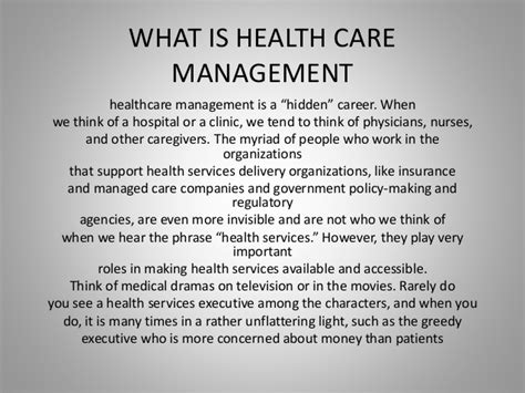 the leadership lectures practical wisdom for health care leaders managers and supervisors books what is health care management ppt