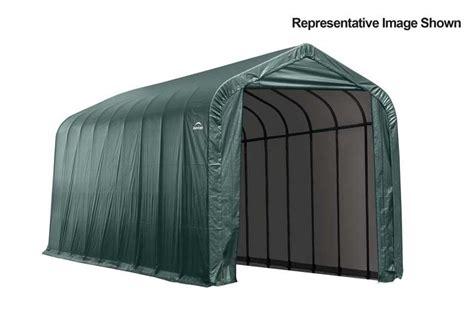 Shed Logic by Shelter Logic 14x36x12 Peak Garage Ship Free Storage