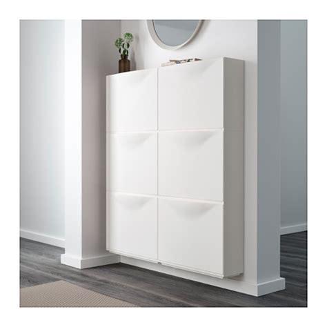 Ikea Shoe Storage Cabinet Trones Shoe Cabinet Storage White 51x39 Cm Ikea