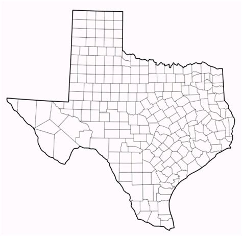 blank outline map of texas texas maps perry casta 241 eda map collection ut library