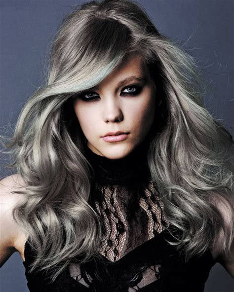 how to get gray hair color 50 shades of grey hair trends and styles ohh my my