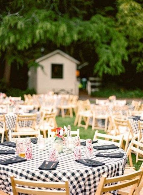 backyard table 55 backyard wedding reception ideas you ll
