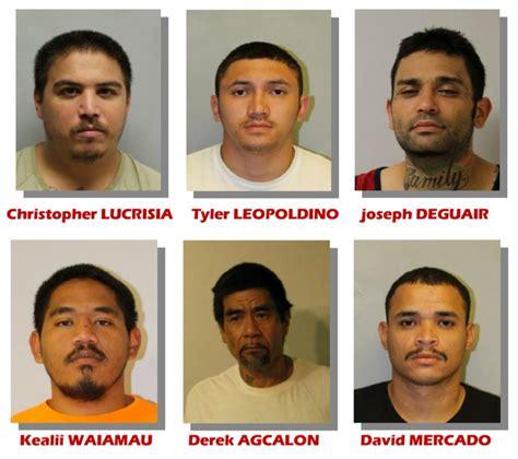 bench warrant hawaii hpd six men wanted for outstanding bench warrants big