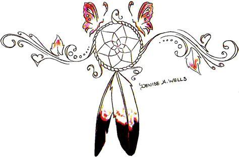 design dream woman dreamcatcher tattoo design by denise a wells