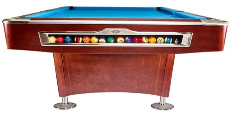 Olio Pool Table by Olio Pool Table 4983 Mahagony 9ft For Sale At Beckmann
