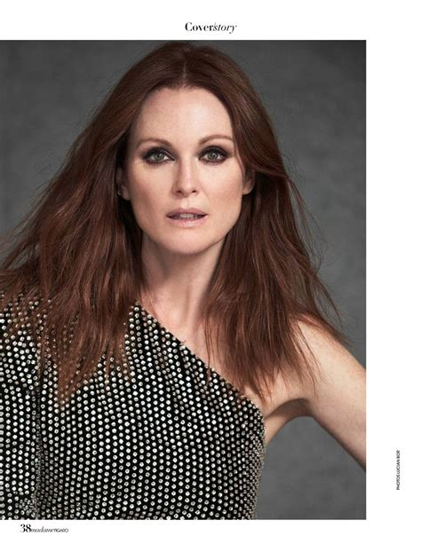 julianne moore hairstyles in 2018 julianne moore madame figaro jauary 2018 issue