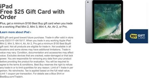 Where To Purchase Best Buy Gift Cards - best buy offering 25 gift card with purchase of new ipad mac rumors