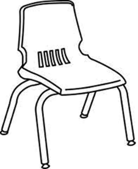 school chair coloring page english exercises classroom objects multiple choice quiz