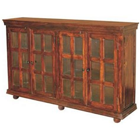 jaipur furniture monsoon rich brown wood 2 door 2 drawer