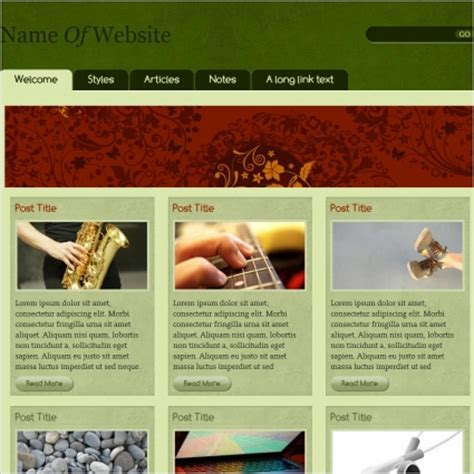 free css templates for educational websites css heaven 1 template free website templates in css html