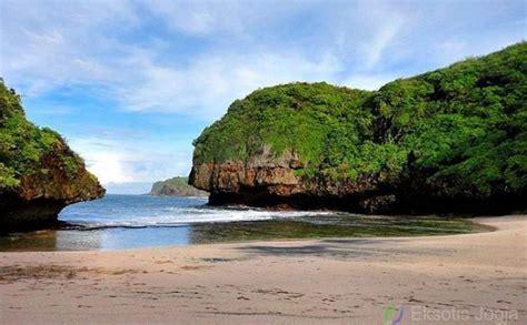 spot foto  pantai greweng gunung kidul  hits