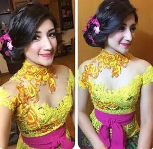 model baju bordiran bali model baju kebaya muslim modern hairstylegalleries com
