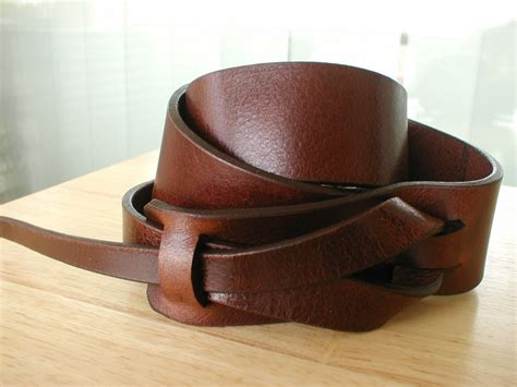 Handmade Leather Crafts - handmade leather belts without metal handmade jewlery