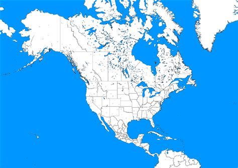 blank political map of america america political blank map size