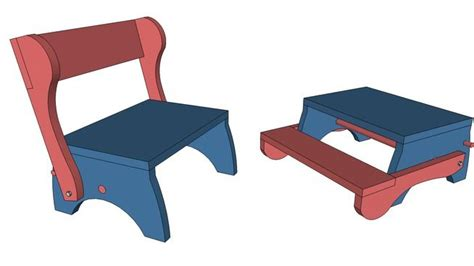 3d warehouse bar stools childs folding step stool plans woodworking projects plans