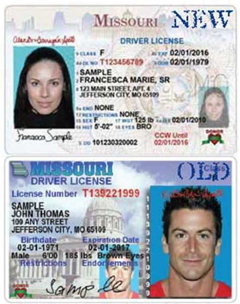 missouri issues new driver s licenses