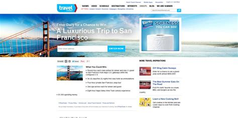 Travel Channel Sweepstakes Entry - travelchannel com sweepstakes travel channel sweepstakes