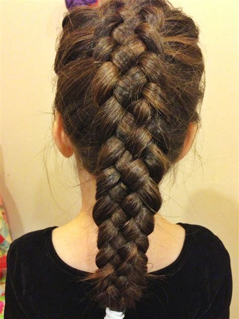 three strand braid or plait one how to tie knots easy 5 strand french braid hair and beauty pinterest