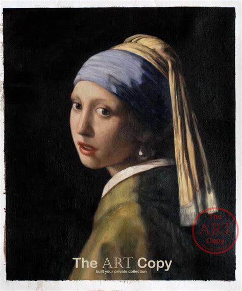 comprar cuadro la joven de la perla cuadros the art copy la joven de la perla johannes vermeer