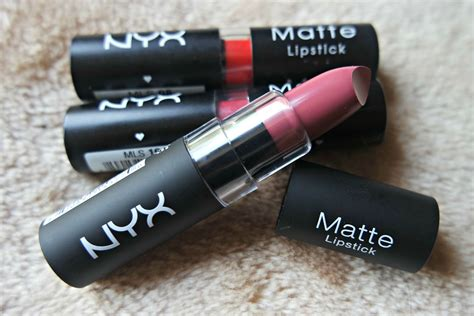 Nyx Matee Lipstick 1 nyx matte lipsticks the beautynerd