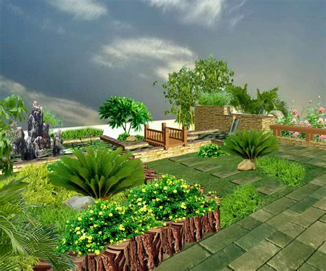 Home Garden Landscaping Ideas Home Garden Ideas Tjihome