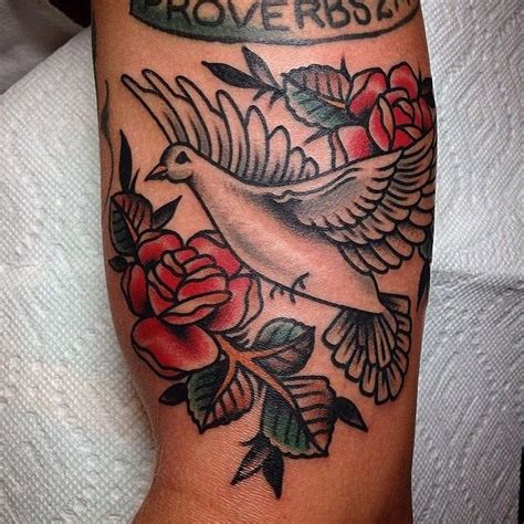 traditional dove tattoo 38 best dove tattoos images on holy spirit