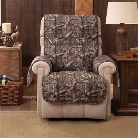 mossy oak recliner slipcovers buy recliner chair covers from bed bath beyond