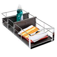 simplehuman 20 pull out cabinet organizer cabinet organizers kitchen cabinet storage the