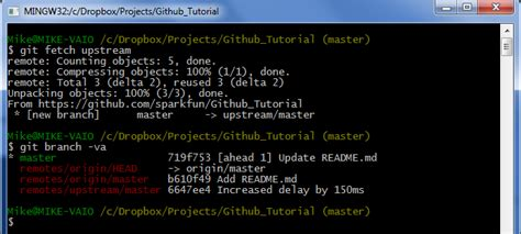 git tutorial upstream using github to share with sparkfun learn sparkfun com
