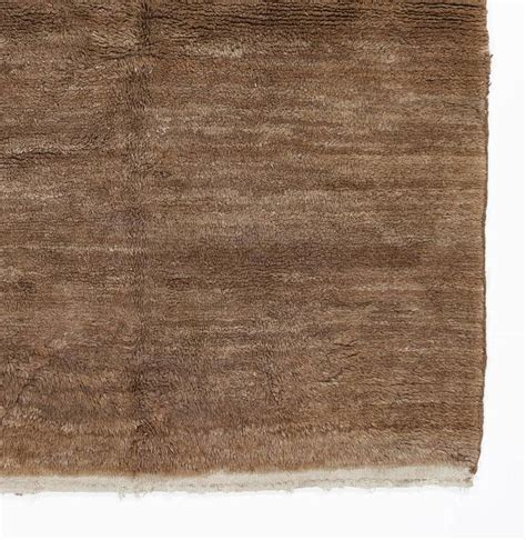 plain rugs for sale plain vintage quot tulu quot rug made of brown wool for sale at 1stdibs