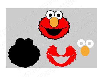 Sticker Cutting Mengintip Elmo elmo etsy