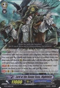 Cardfight Vanguard Bt 17 Granblue lord of the seven seas nightmist catastrophic outbreak cardfight vanguard singles