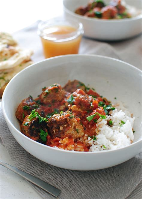 masala meatballs indian dishes with an american twist books indian turkey meatballs rice bev cooks dinner