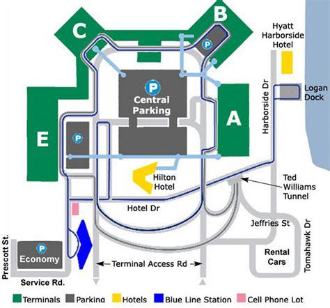 logan airport map airport parking map logan airport parking map jpg