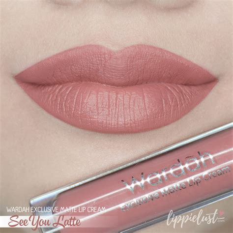 Lipstik Wardah See You Latte Swatch Review Wardah Exclusive Matte Lip 12