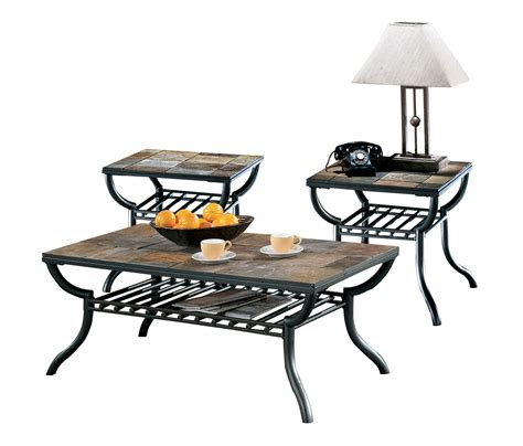 Antigo Coffee Table Furniture Antigo 3pc Coffee Table Set The Home