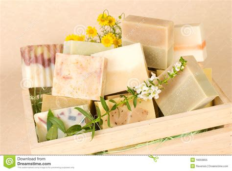 How To Price Handmade Soap - of handmade soap in wooden box royalty free stock