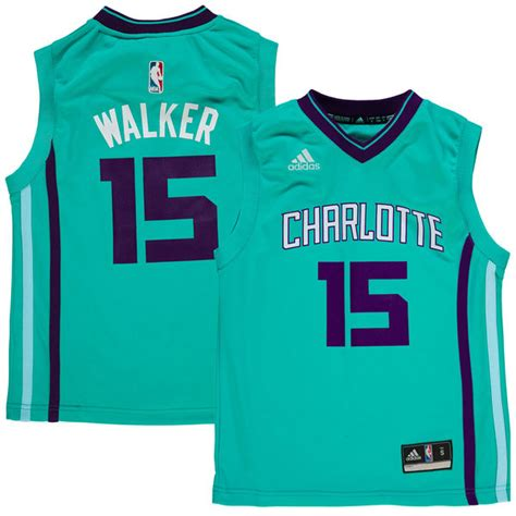 nba jersey design hornets youth charlotte hornets kemba walker adidas teal replica