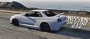 Nissan R34 Skyline Gtr Nissan Skyline Gtr R34 Gta5 Mods