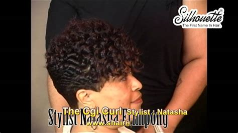 freeze curl ponytails hair instructional video the chi curl african american