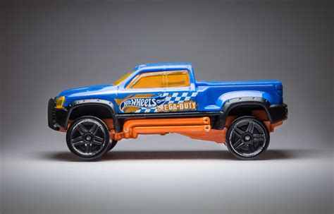 8 Hot Wheels cars photographed to look like full size