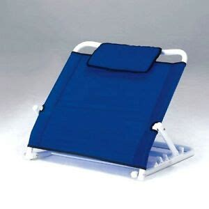 adjustable backrest back rest reclining support bed wedge with pillow cushion ebay